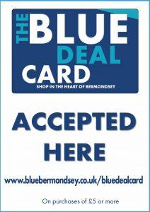 The Blue Deal Card
