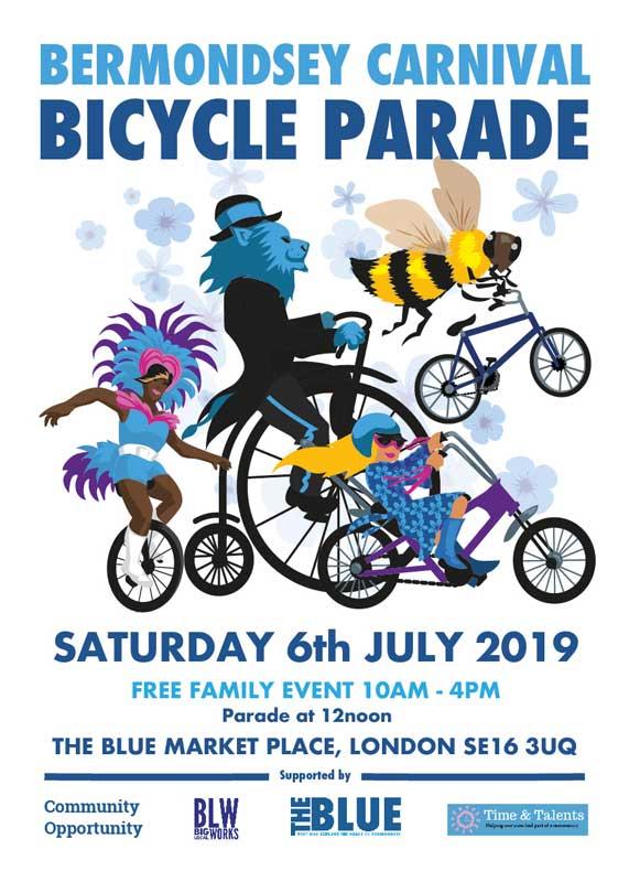 Bermondsey Carnival Parade in The Blue