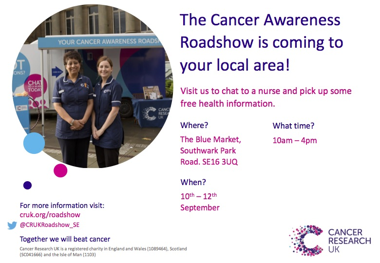Cancer Awareness The Blue Market
