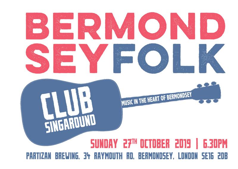 bermondsey folk club 2019-10-27 Partizan