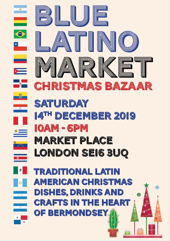 Blue Latino Market Christmas Bazaar 2019
