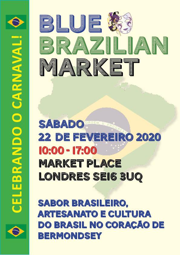 Blue Brazlian Market