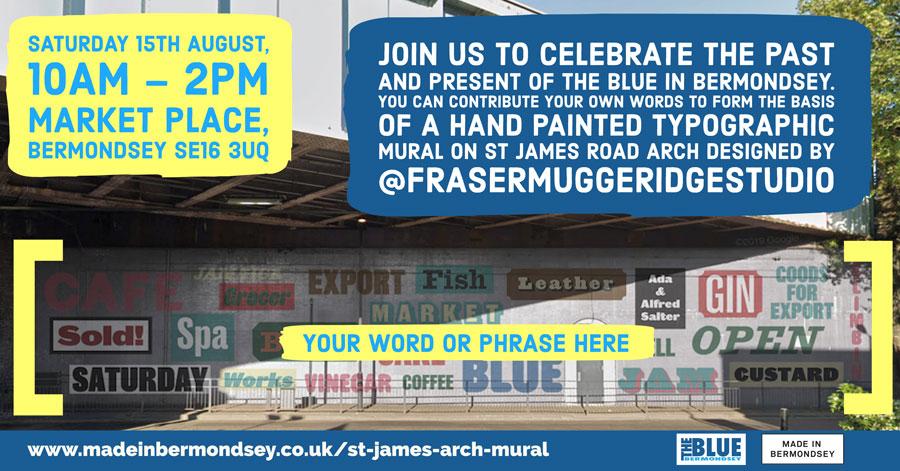 St James's Rd Mural Community Artwork Workshop