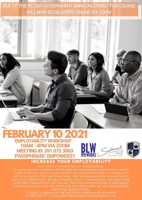 employability workshop february 2021