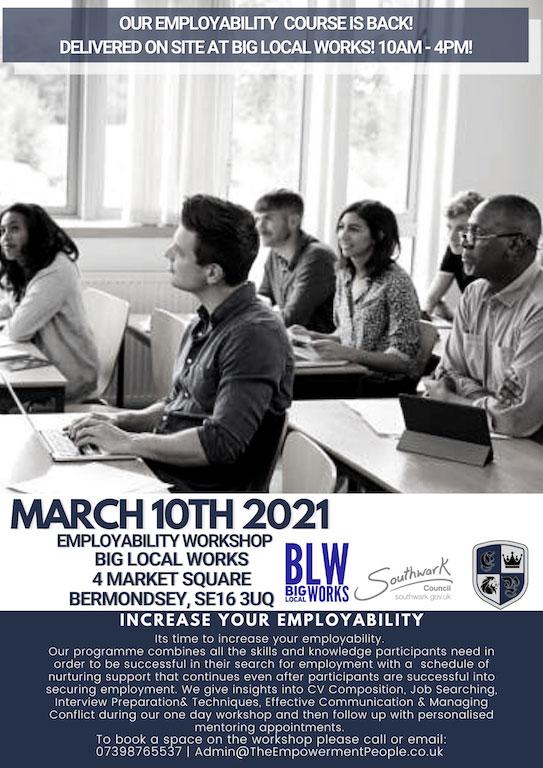 Employability workshop BLW march 2021