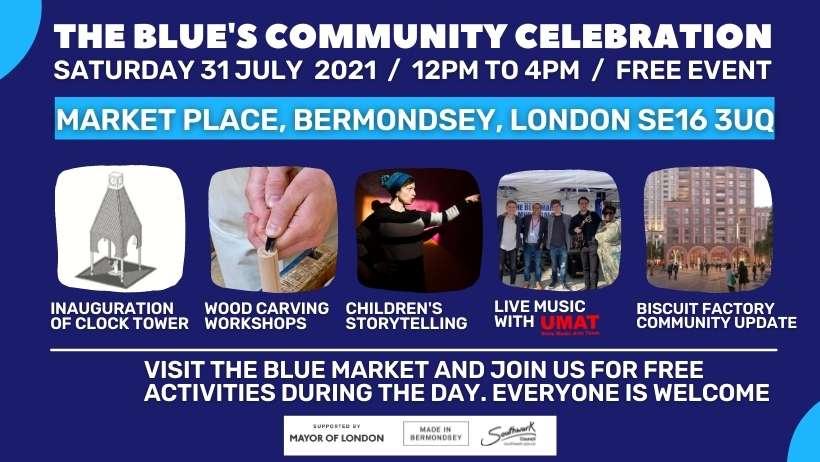 The Blue's Community Celebration Event